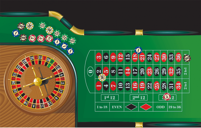 What is roulette? Mention the difference between roulette and roulette 77?